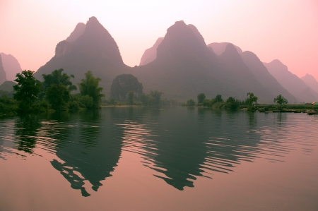 Yangsho landscape with clipping paths