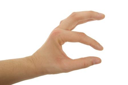 A Gesten der Hand Photo Standard-Bild - 17995492