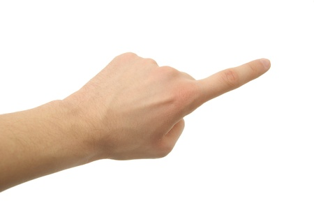 dictatorial: a hand photo, gesture