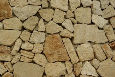 Ein Hintergrund der Steinmauer Textur Standard-Bild - 17995482