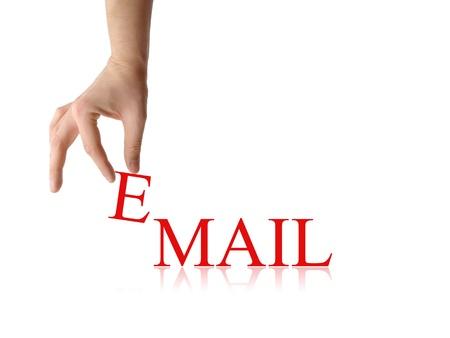 E-Mail-abstrakte Standard-Bild - 23441682