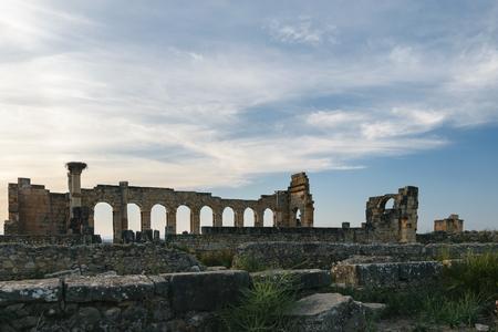 volubilis: Volubilis Basilica, Morocco