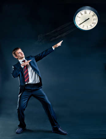 time management is a road to success Stok Fotoğraf