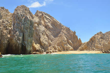 the Lovers beach in Los Cabos, Mexico Stock Photo