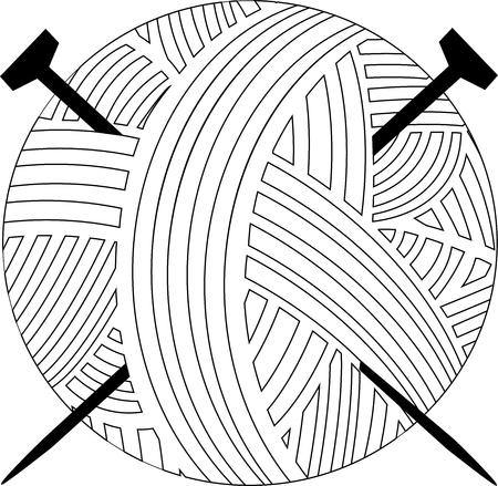 breiwol Stock Illustratie