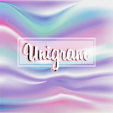 Holographic background pastel gradient foil