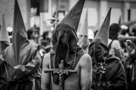 procession: procesi�n religiosa Foto de archivo