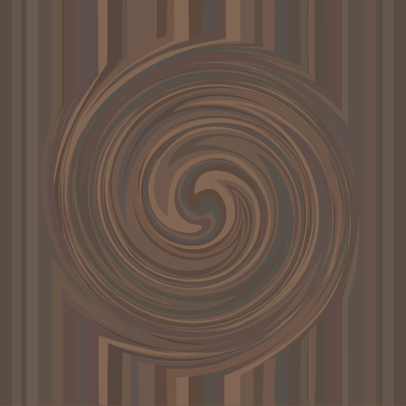 Chocolate swirl texture background. Abstract dark chocolate vector backdrop