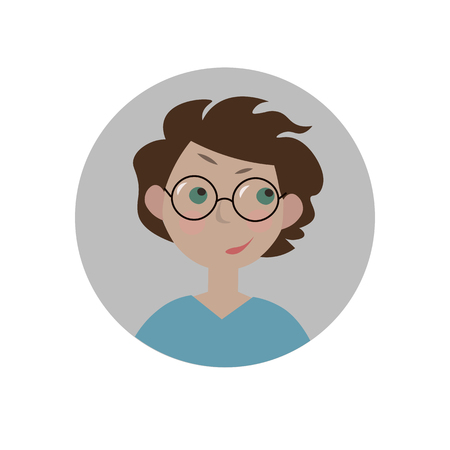 Puzzled emoticon. Confused emoji. Perplexed smiley. Dilemma expression. Isolated vector illustration.
