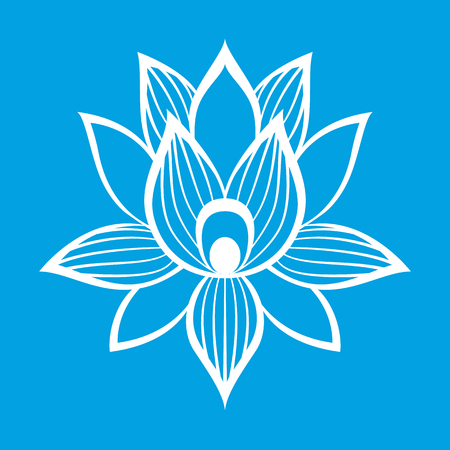 Best lotus flower sign for the perfect web design