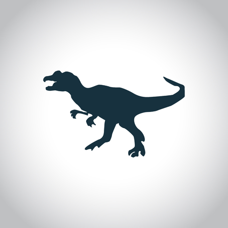 jurassic: Dinosaurs jurassic animal icon for web and mobile device Illustration