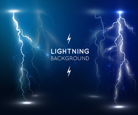 Lightning flash strike background. Best design for web