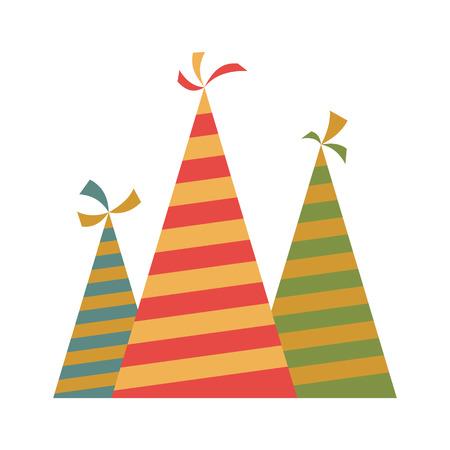 chapeau Party icône plat pour les dispositifs web et mobiles