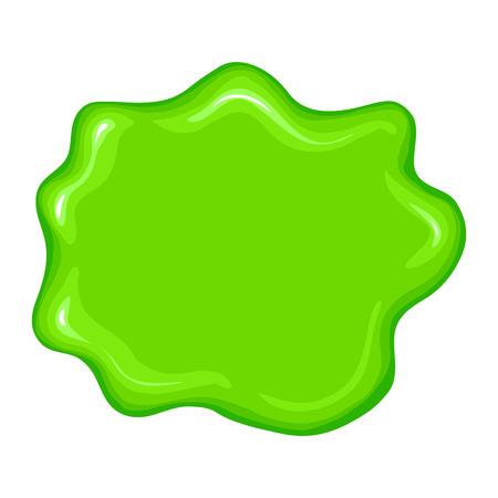Best green slime sign isolated on a white background Reklamní fotografie - 48325612
