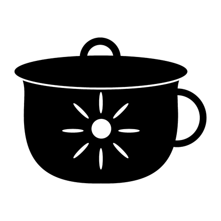 potty: Potty simple icon for web and mobile devices Illustration