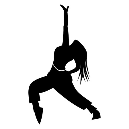funk: Dance simple icon for web and mobile devices Illustration
