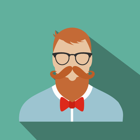bakelite: Hipster flat character for web and mobile devices