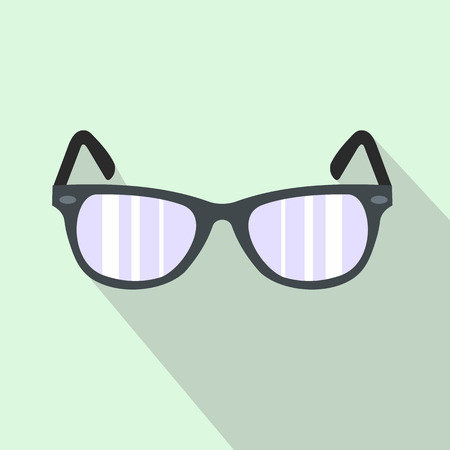 aviators: Sunglasses flat icon for web and mobile devices