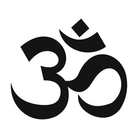 initials: Arabic letters simple icon. Initials ornate signature symbol Illustration