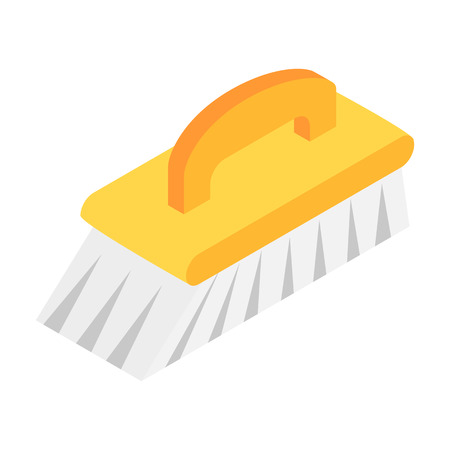 mopped: Fetlock isometric 3d icon isolated on a white background