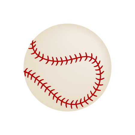 fastball: Baseball isometric 3d icon on a white background