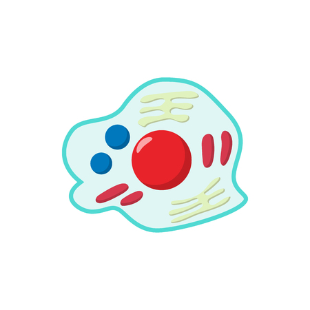 germs: Germs cartoon icon on a white background Illustration