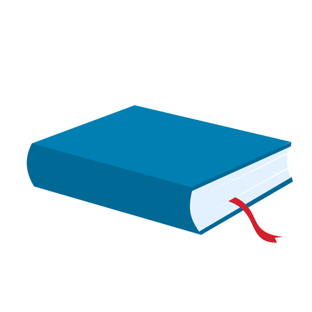 blue book: Blue book icon isolated on white background