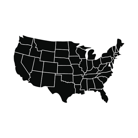 United States Map Clip Art Thefreebiedepot United States Clipart