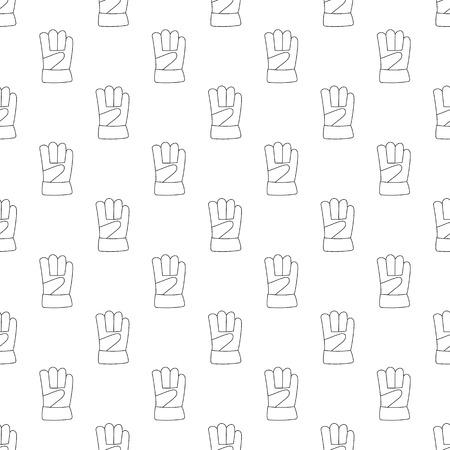 forearm: Gauntlet pattern seamless black for any design Illustration