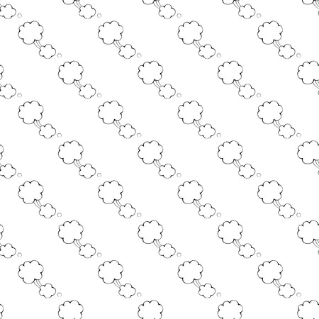 unexpected: Speech bubble pattern seamless black for any design Illustration