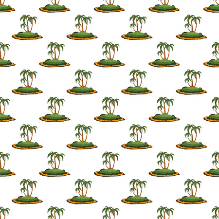 desert island: Desert island pattern seamless black for any design
