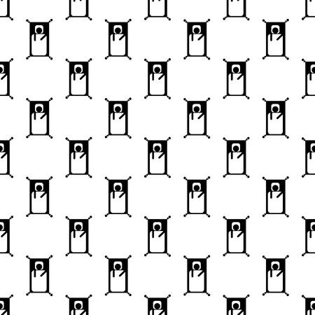 sleepiness: Stick man pattern seamless best for any design