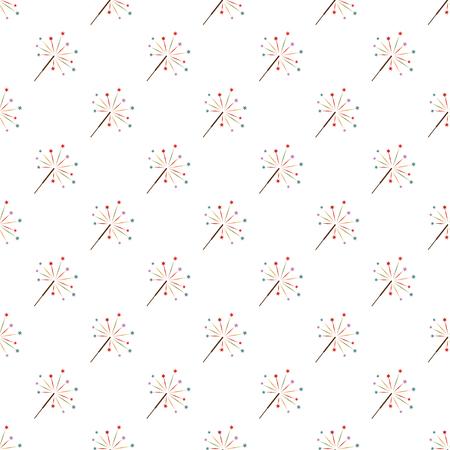 Sparkler pattern seamless best for any design Illustration