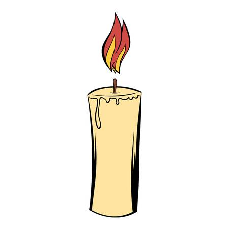 subsidiary: Candle icon cartoon