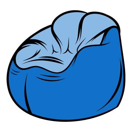 flexible: Flexible chair icon cartoon Illustration
