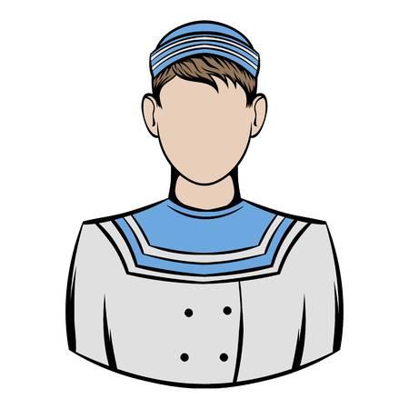 Sailor icon cartoon