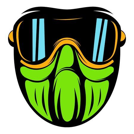 guise: Protective mask icon cartoon