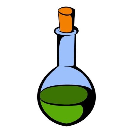 Small bottle with a green potion icon