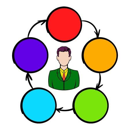 teamwork: Cooperation, teamwork, partnership icon