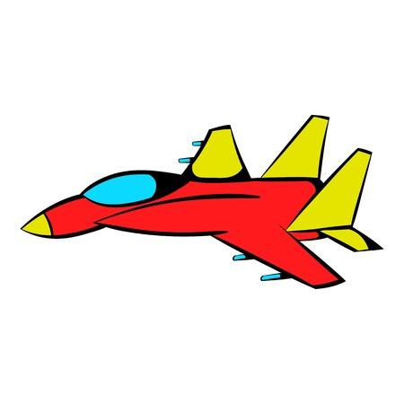 pilot  cockpit: Fighter aircraft icon, icon cartoon