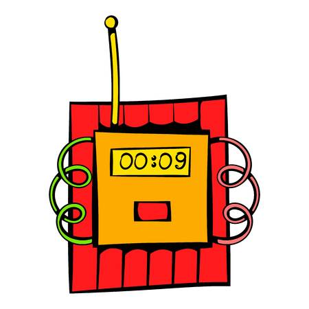 ignited: Dynamite icon, icon cartoon