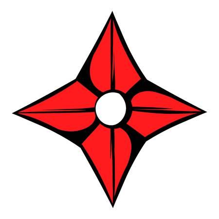 Flying knife icon, icon cartoon Illustration