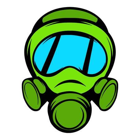 Gas mask icon, icon cartoon Illustration