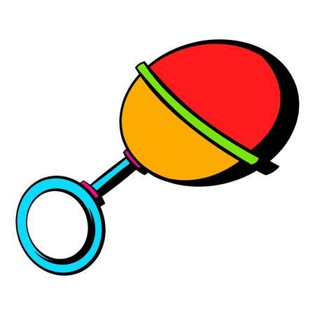clack: Baby beanbag icon, icon cartoon