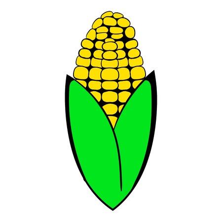 corncob: Corncob icon cartoon