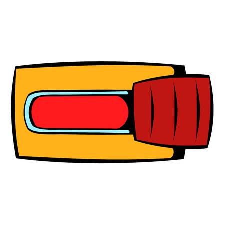 disapprove: Toggle switch in No position icon cartoon Illustration