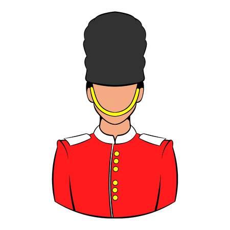 A Royal Guard icon cartoon