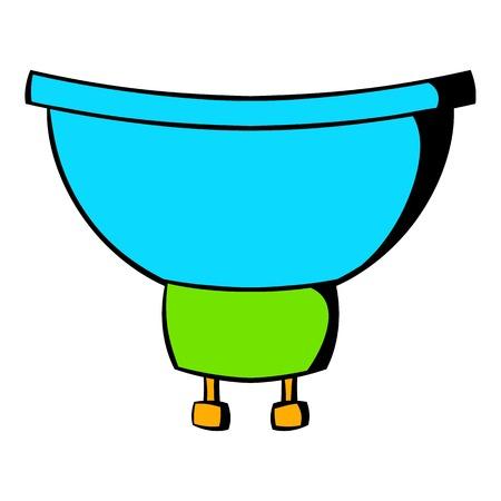 Luminodiode icon cartoon