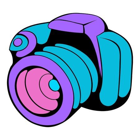 Camera icon cartoon