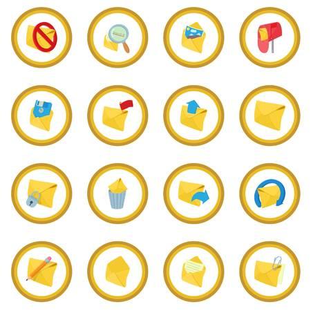 Mail icon circle